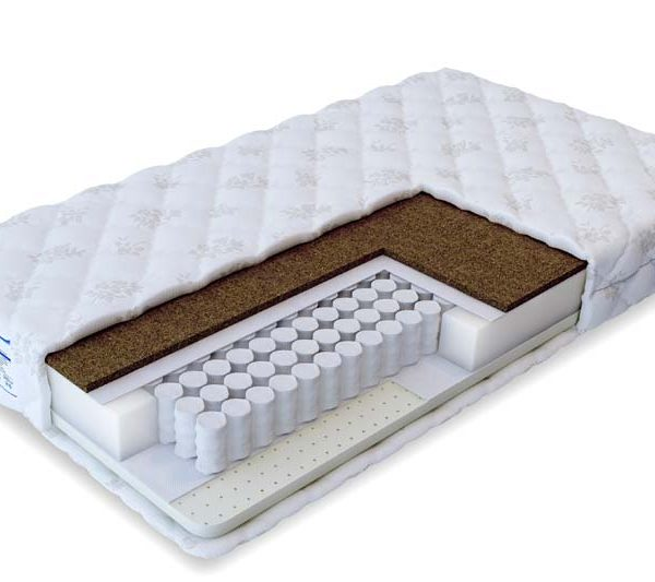 двуспальный пружинный матрас Soft Комби 140х200, 160х200